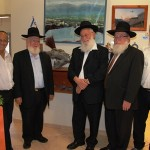 From right to left-Rav Fuchs,Kirshtain,Shugerman,Drori and Avigdor Kehalani